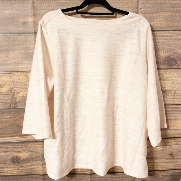 Old Navy Tops - Old Navy Pink Boat Neck Top (NWT)